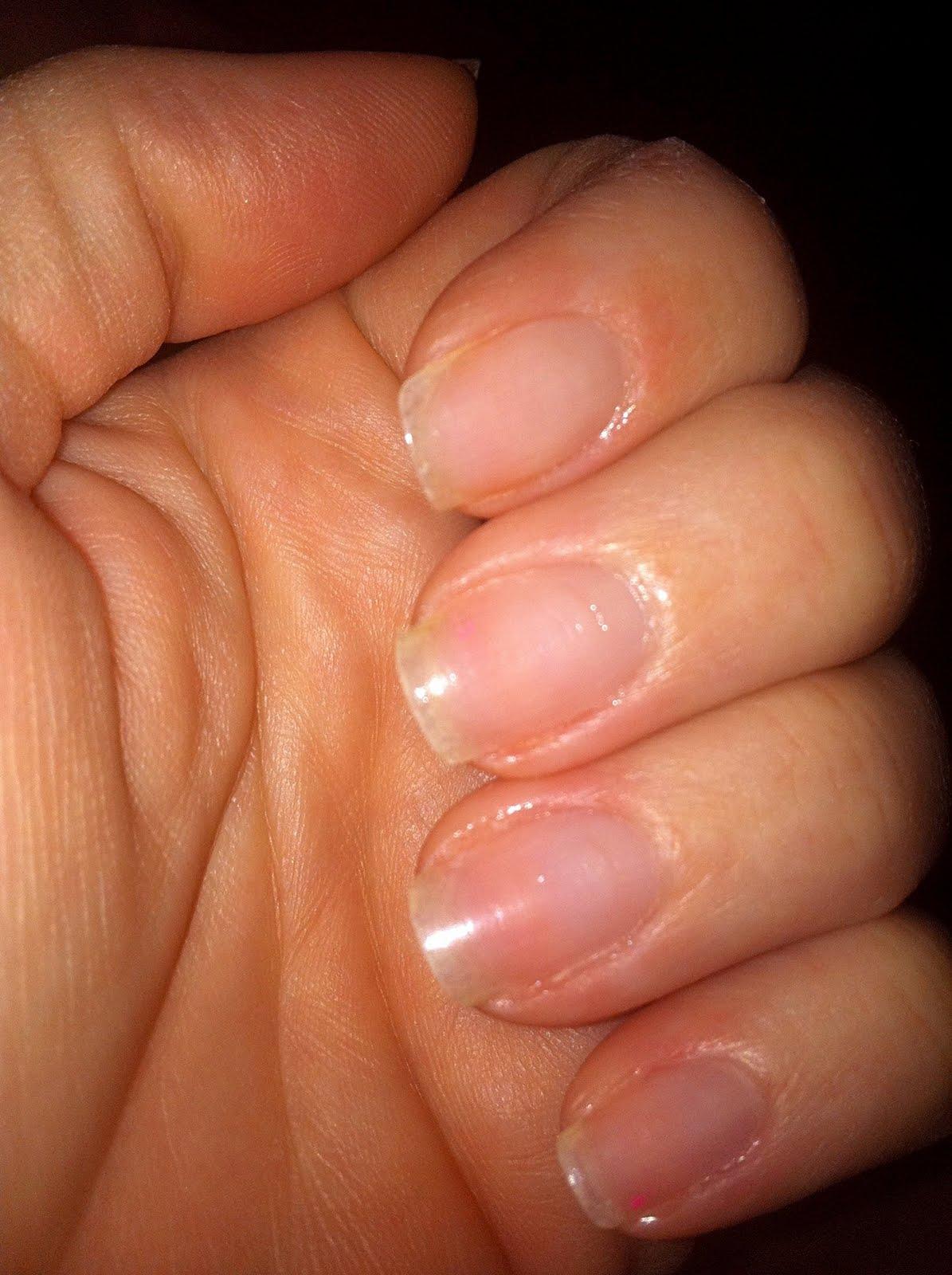 My Nail Polish Obsession My Birthday Nails: BlondeTXGoddess: MY NATURAL NAILS