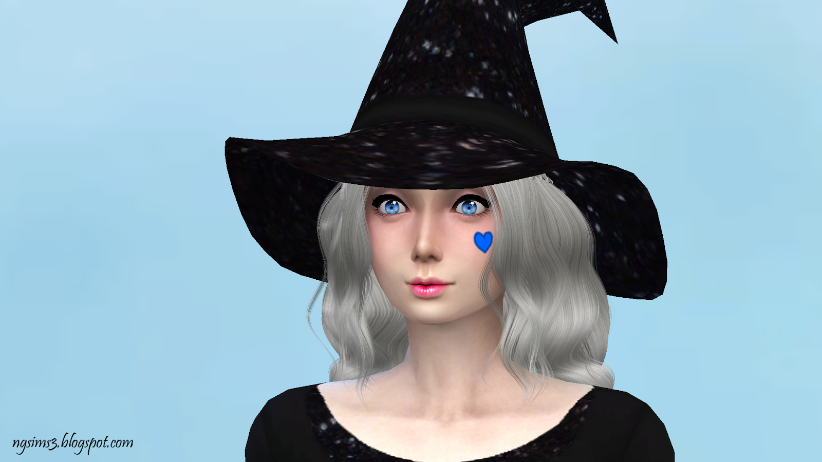 Spooky Home Decor Ng Sims 3 Black Glitz Witch Clothes Set Dress Ts4 Clothing