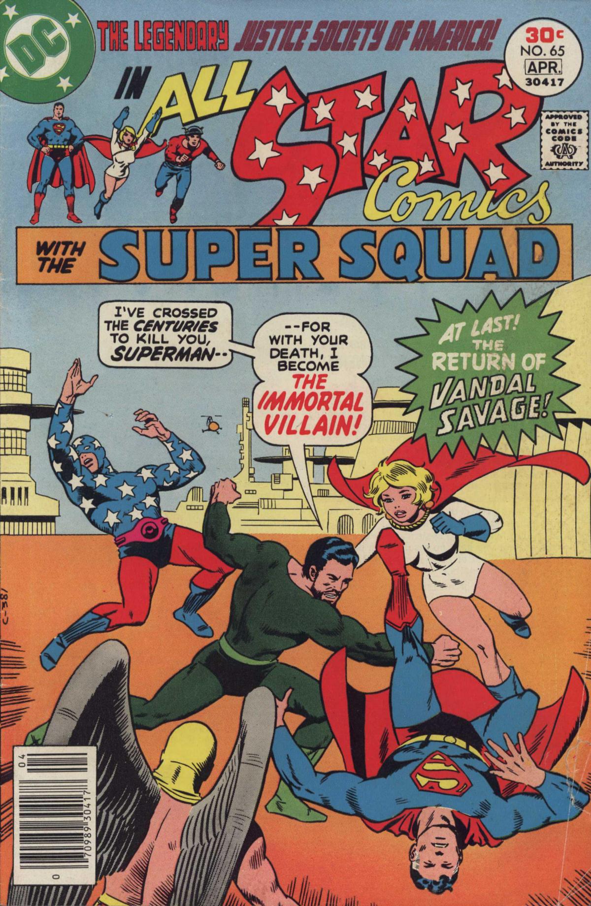 Read online All-Star Comics comic -  Issue #65 - 1