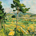 Summary Art Principles from Paul Cezanne (Yellow House # 16)