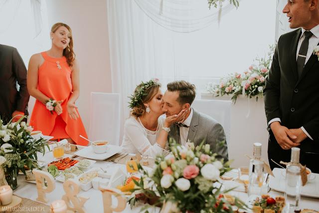 Rustykalne wesele.