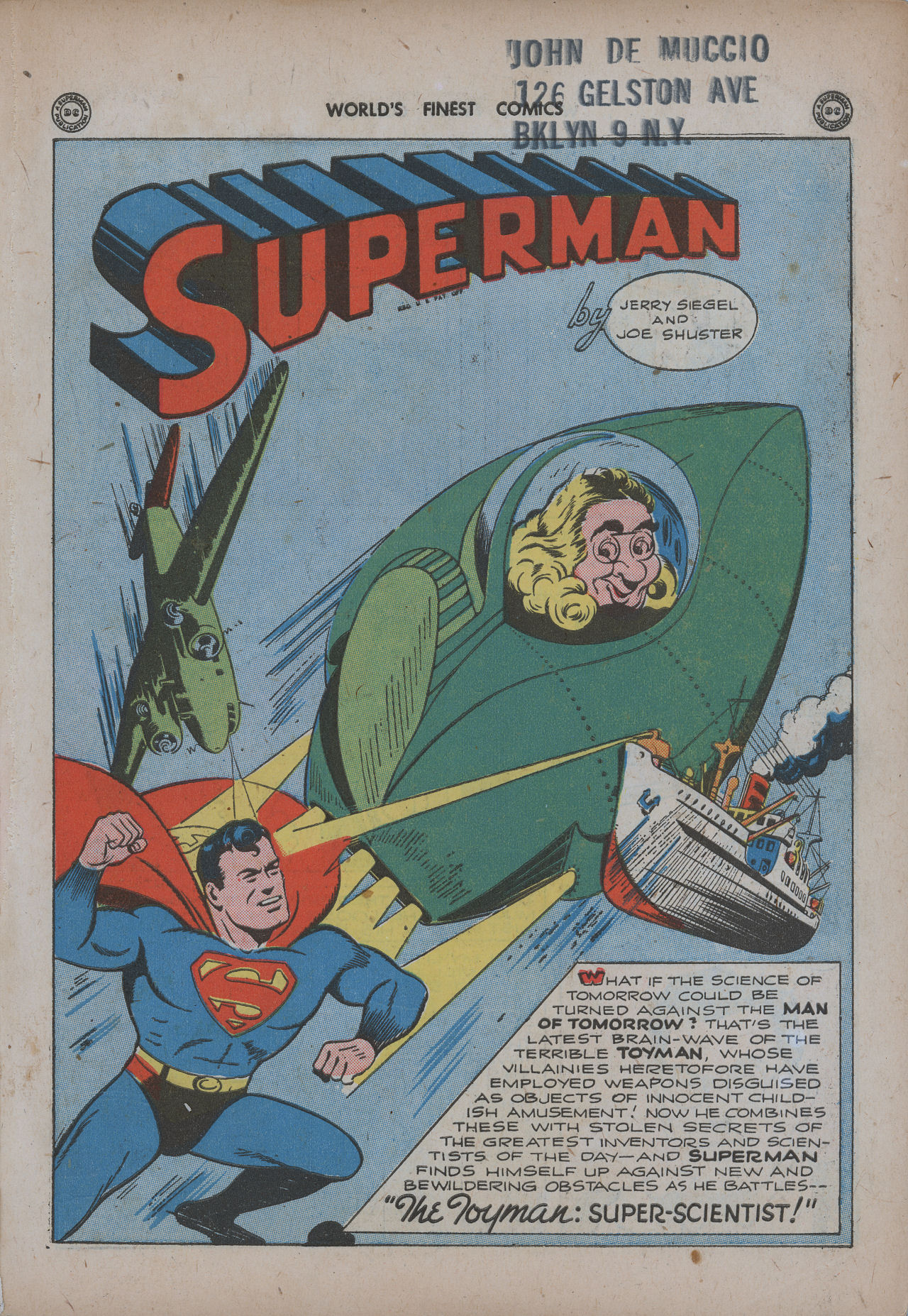 Read online World's Finest Comics comic -  Issue #20 - 3