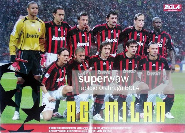 AC Milan Team Squad 2006