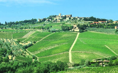 Why is the Conca d'Oro of Panzano in Chianti called the Conca d'Oro?