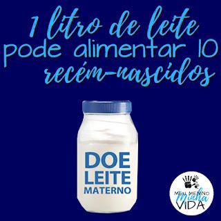 1 LITRO DE LEITE SALVA ATE 10 RECEM NASCIDOS