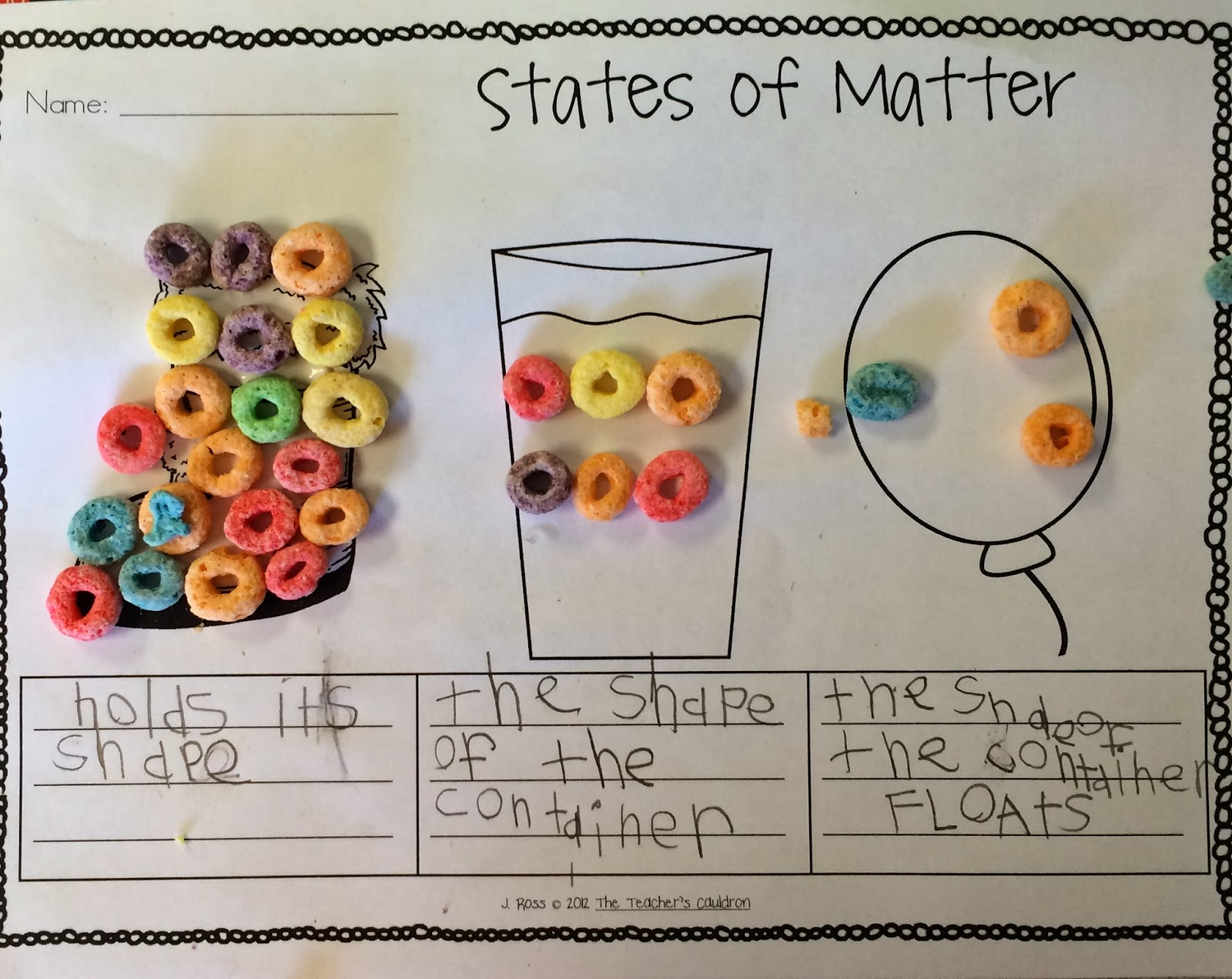 From Reading To Recess States Of Matter Solids Liquids