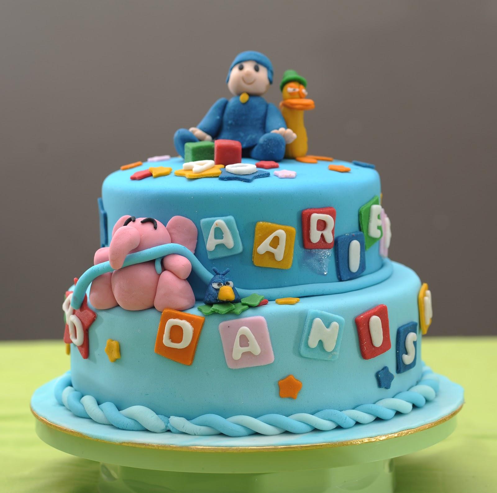 Kek Birthday Pocoyo Prettysmallbakery