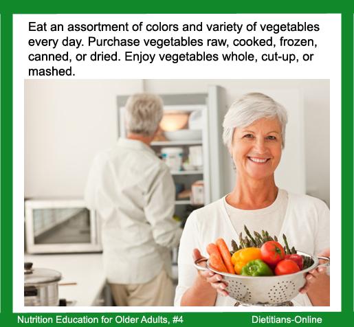 Dietitians Online Blog: Nutrition Education For Older