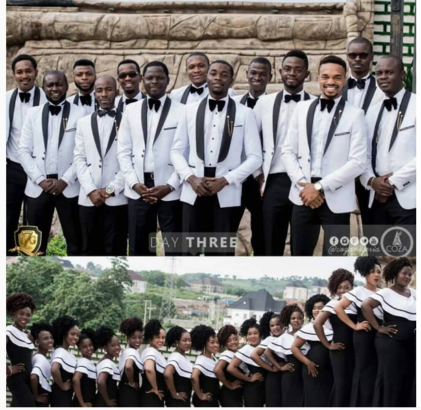 Photos Of How The Ushers Richest Church In Nigeria Dress Coza Abuja