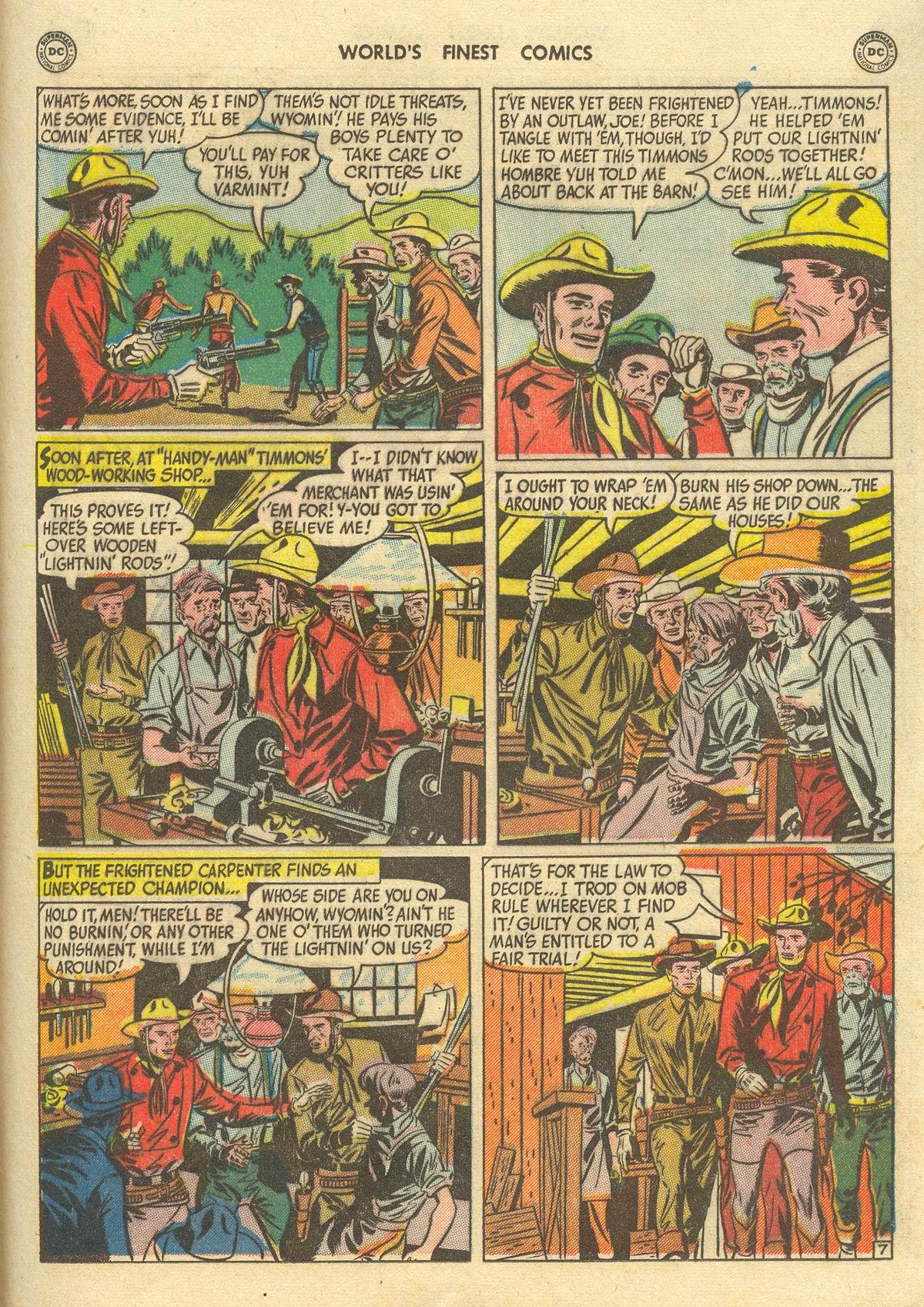 Read online World's Finest Comics comic -  Issue #51 - 49