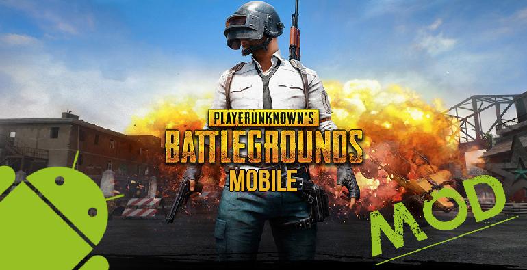 تحميل لعبة ببجي مهكرة Pubg Mobile Mod للاندرويد