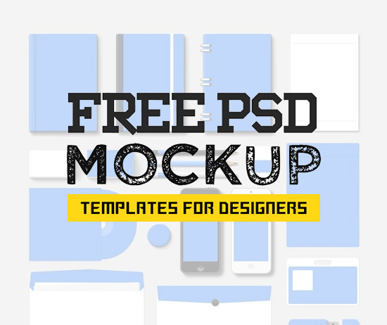 115 Amazing Free Mockup PSD for Showcasing Your Designs