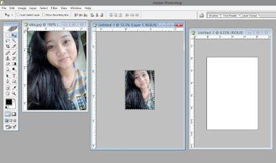 Cara membuat ukuran pas Photo di Photoshop