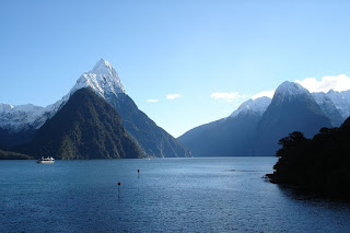Milford Sound Fjord New Zealand