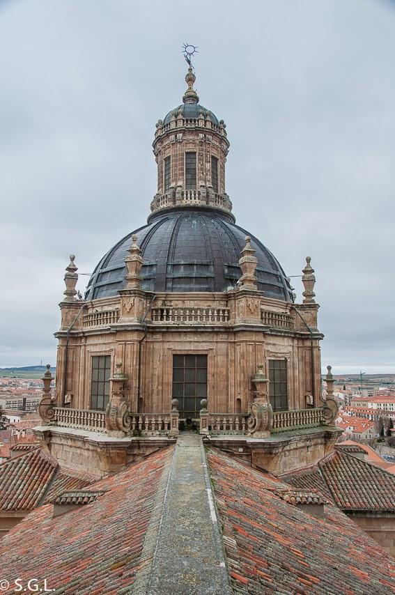 Scala Coeli o torre de la universidad pontificia en Salamanca