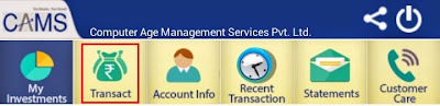myCAMS Online Facilities