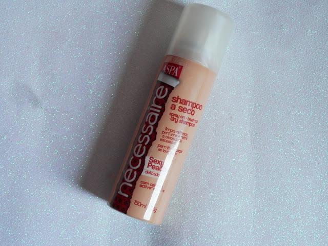 Resenha: Shampoo à seco Sexy Peach (delicado) da Aspa