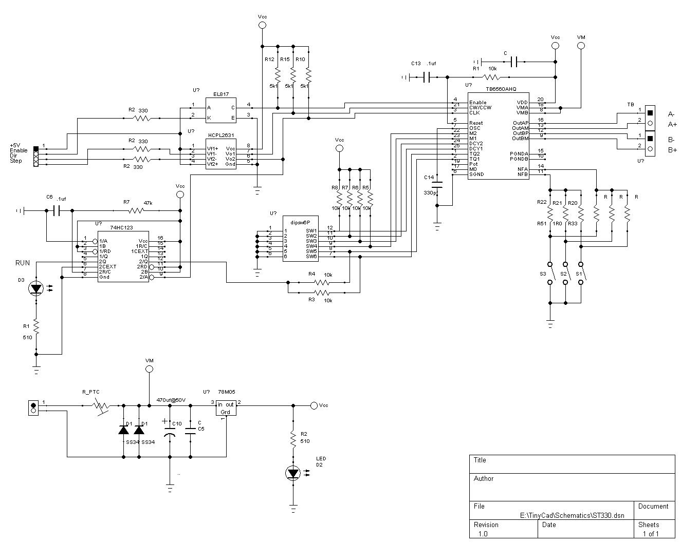 WRG-4671] Tb6560 Stepper Wiring Diagram