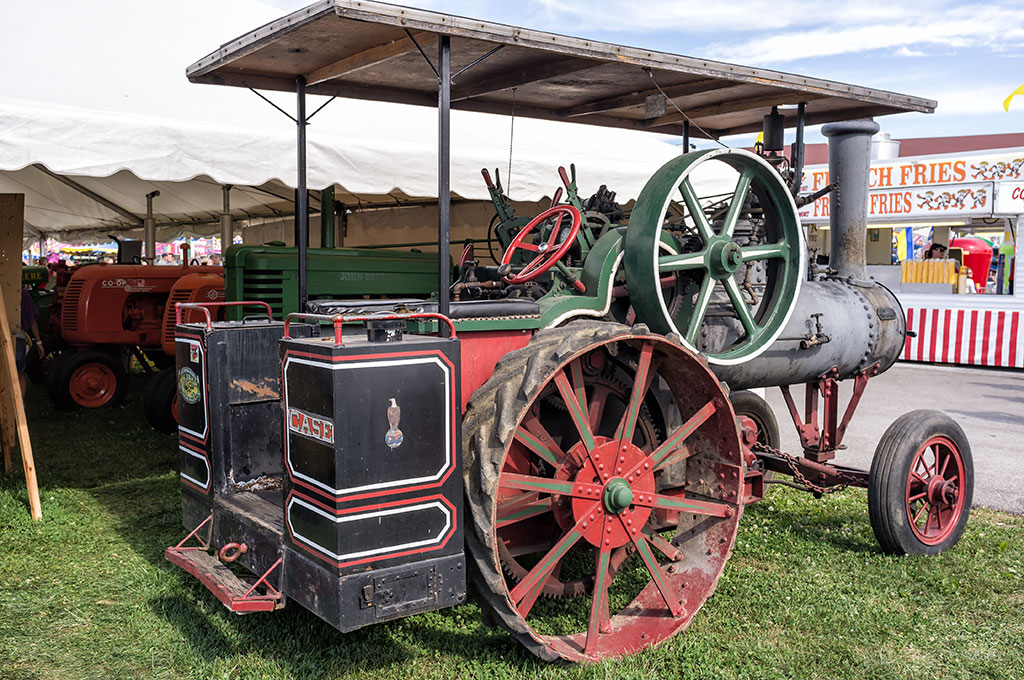 Vintage Steam Engine at the York Fair