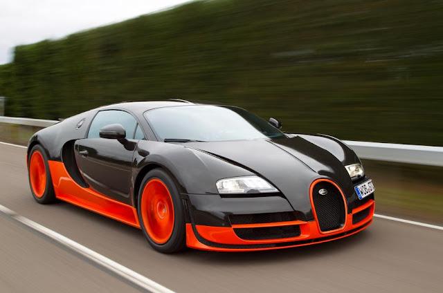 Los 3 autos más veloces del mundo