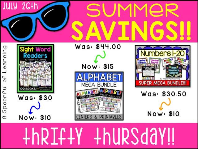 7 Days of Summer Savings 2018 | Thrifty Thursday