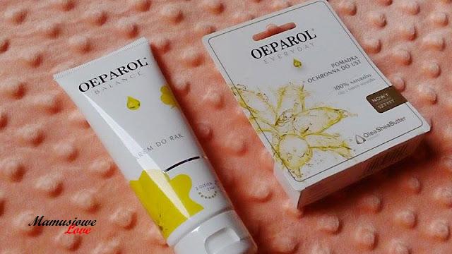 Krem do rąk oraz pomadka do ust z olejem z nasion wiesiołka - OEPAROL