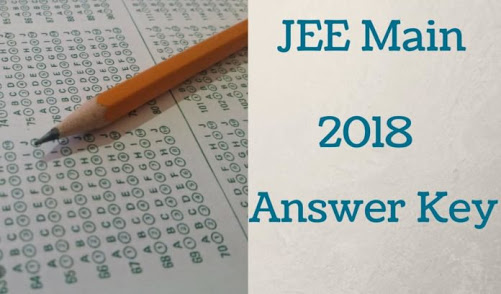JEE MAIN 2018 ANSWER KEY BY VARIOUS ACADEMY