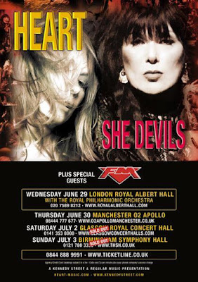 Heart She Devils UK tour 2016 - FM - poster