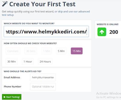 Daftar layanan uptime untuk memantau website4