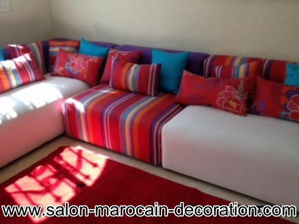 Décoration salon marocain: Fabrication canapé salon marocain ...
