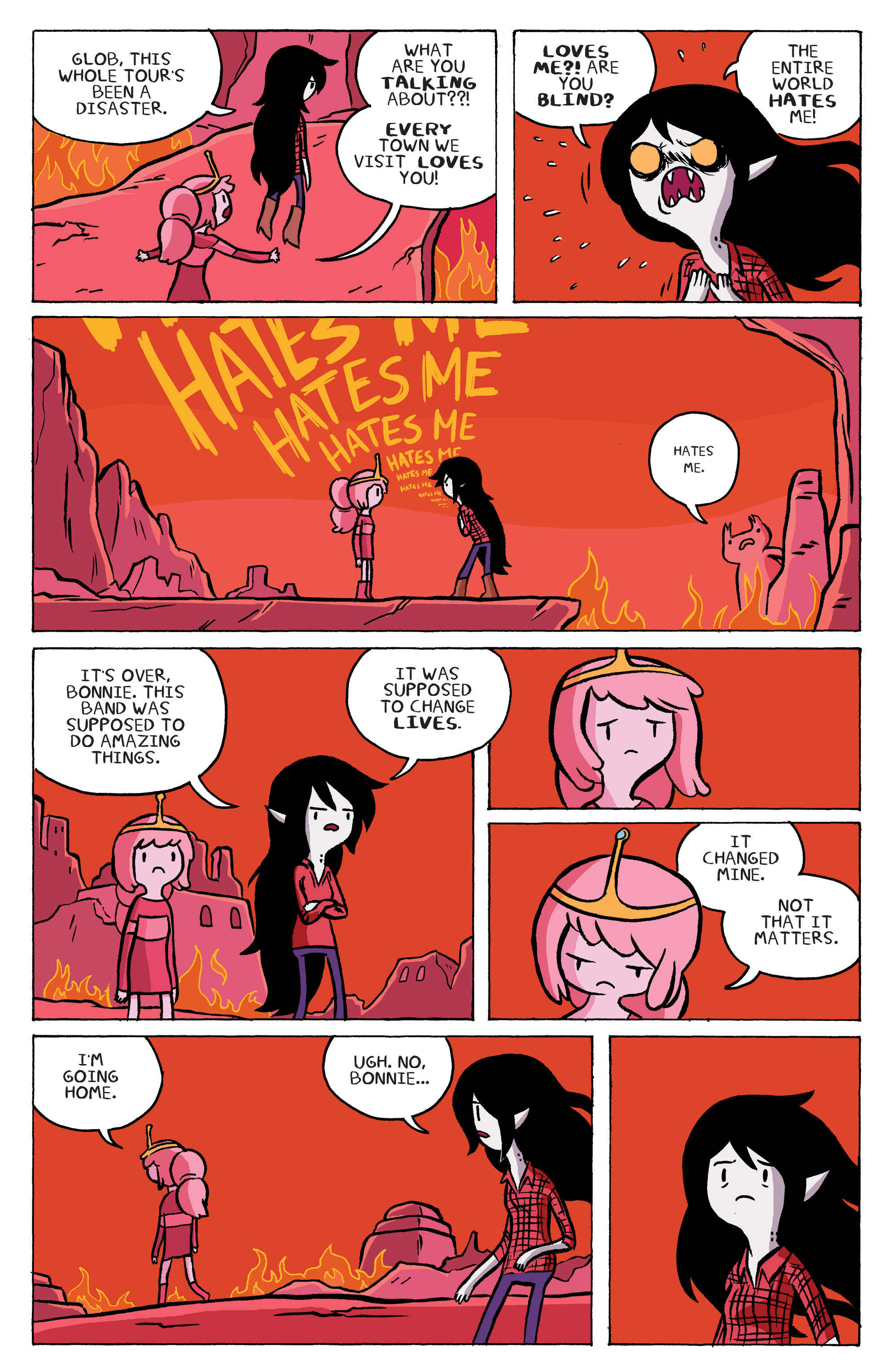 Read online Adventure Time: Marceline and the Scream Queens comic -  Issue #5 - 16