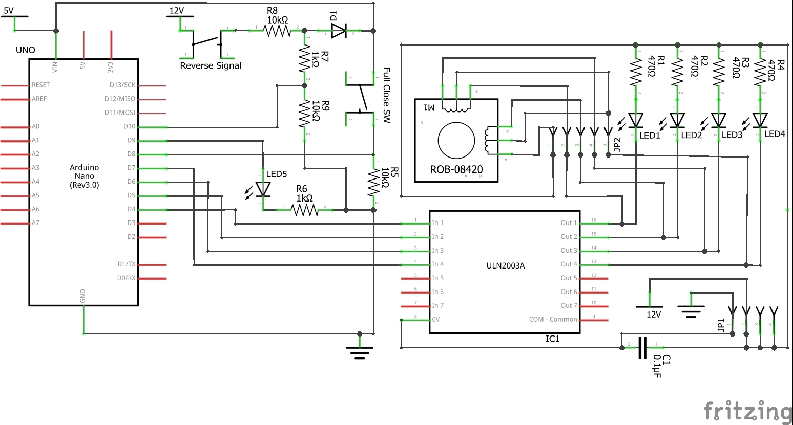 One Day Arduino Projects Automatic Flip Downopen And Close Rear On Pinterest Circuit Diagram Down Monitor Linked With Reverse Gear