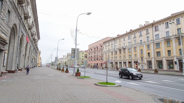 Streets in Minsk are ready for Tanks