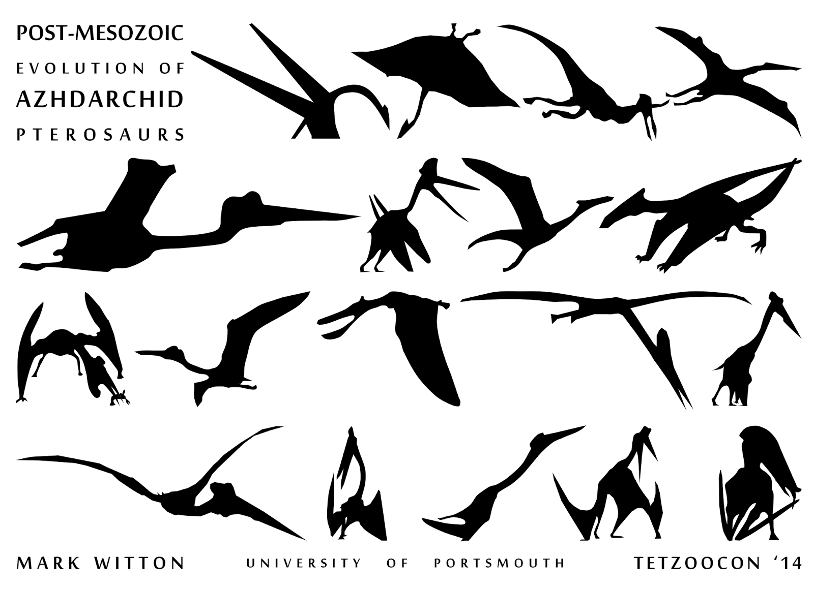 Mark Witton Blog Azhdarchid Pterosaurs