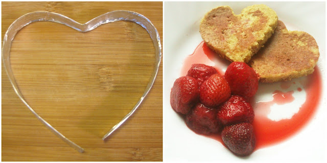 Valentinovo - palačinke u obliku srca