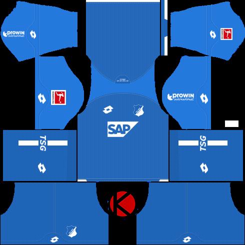 TSG Hoffenheim 2018 19 Kit - Dream League Soccer Kits - Kuchalana e966c2b5b05a3
