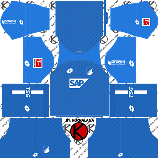 TSG Hoffenheim 2018/19 Kit - Dream League Soccer Kits
