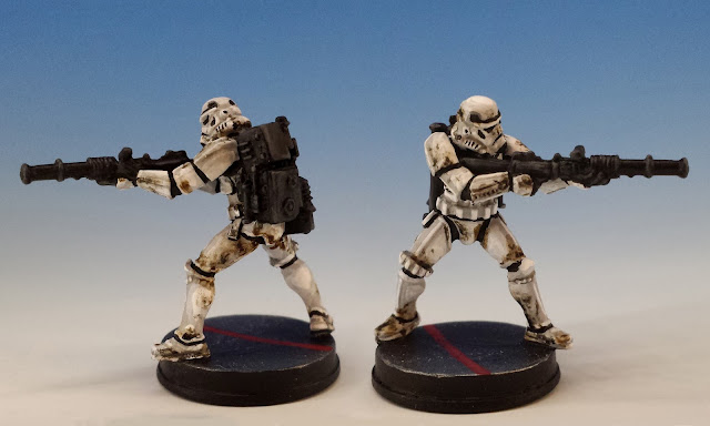 Heavy Stormtroopers, Imperial Assault FFG (2015, sculpted by Benjamin Maillet)