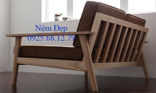 làm nệm lót ghế gỗ