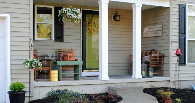 desain teras rumah model sederhana