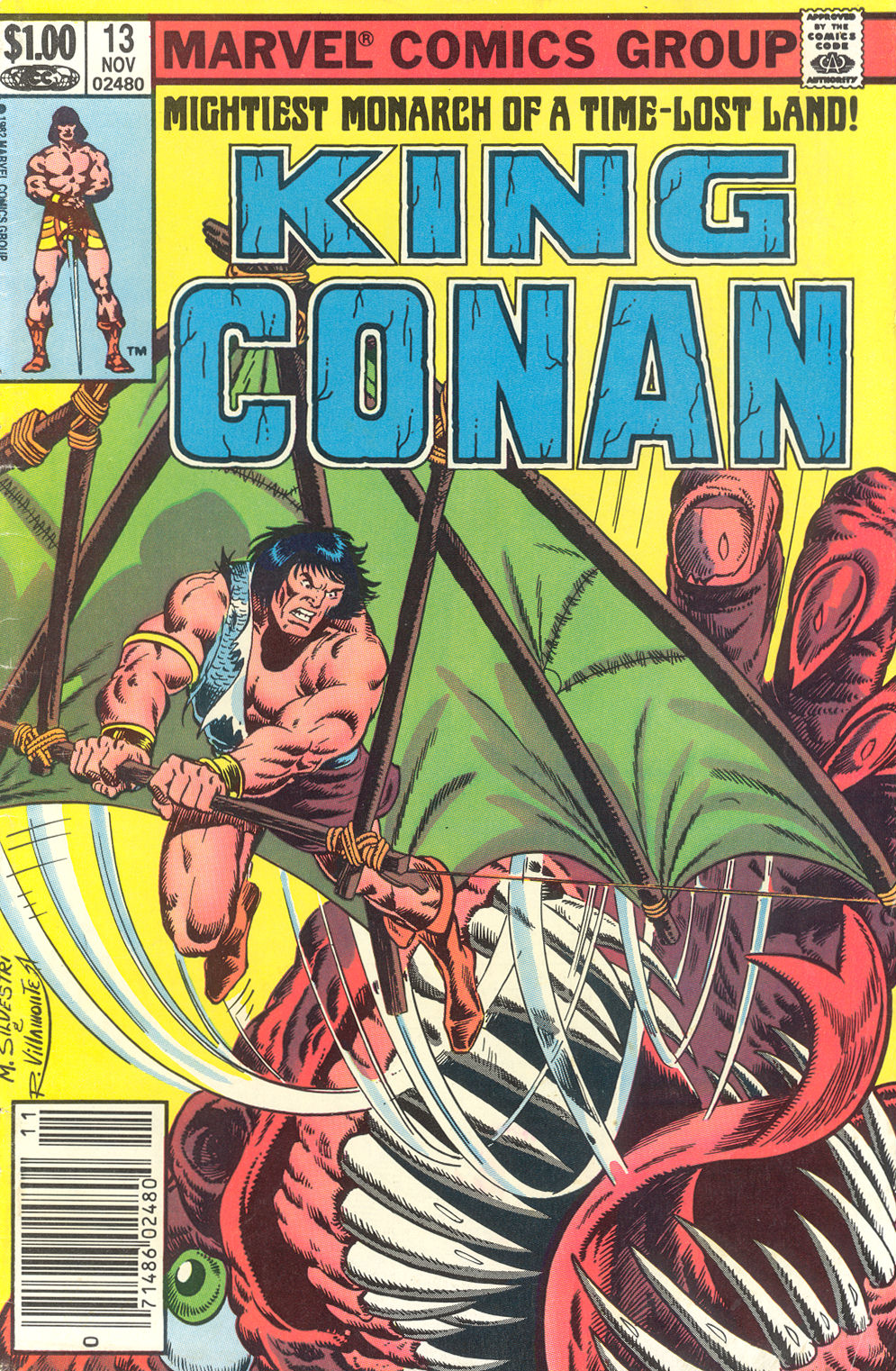 King Conan issue 13 - Page 1