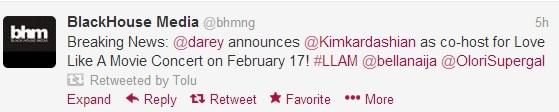 darey - Kim Kardashian set to visit Nigeria!