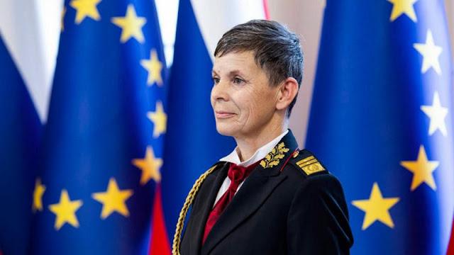 Sejarah, Slovenia Tunjuk Pertama Kali Perempuan Jadi Panglima Militer