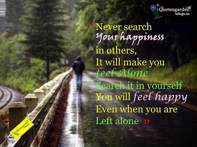Best inspirational quotes about life happiness and lonelyness