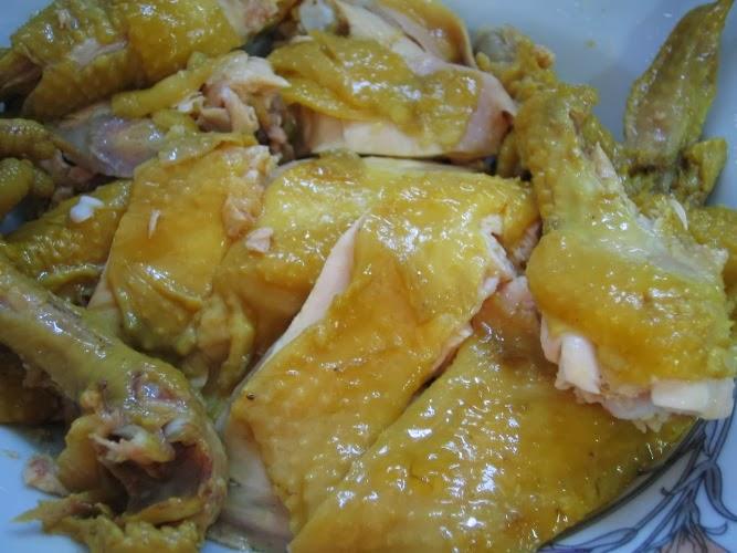 สูตรอาหาร: สูตรอาหาร : ไก่ต้มน้ำปลา