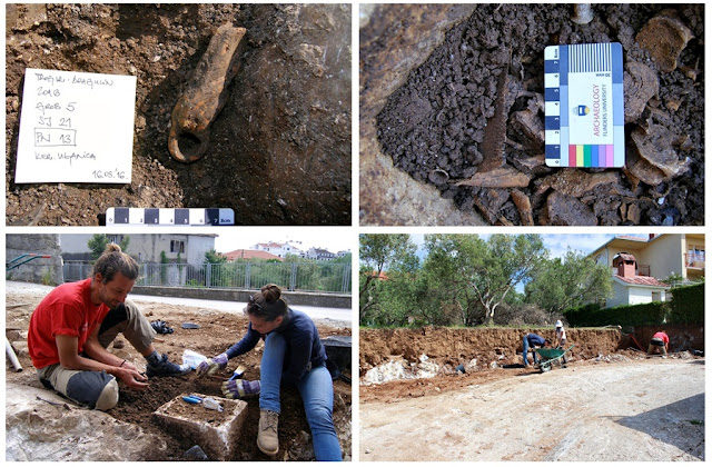 Construction works uncover first century Roman necropolis in Croatia
