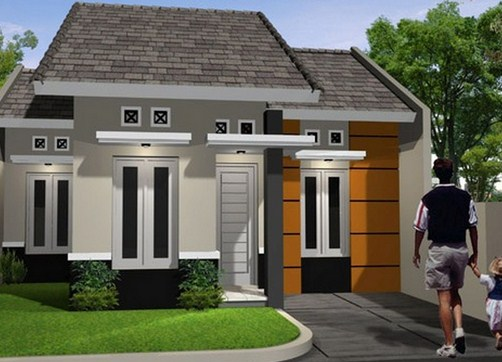 Rumah Minimalis Sederhana Modern 1 Lantai Tampak Depan Terbaru Desain Rumah Sederhana