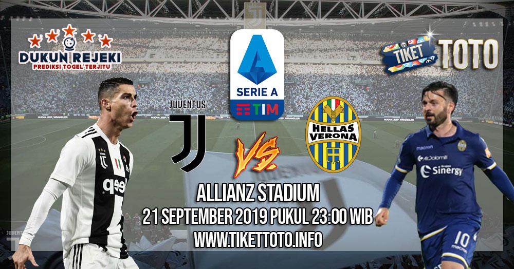 Prediksi Juventus VS Hellas Verona 21 September 2019