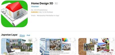 aplikasi desain rumah iphone
