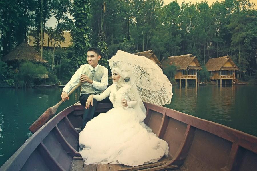 Paket Prewedding Di Kampung Sampireun Garut Terbaru 2018